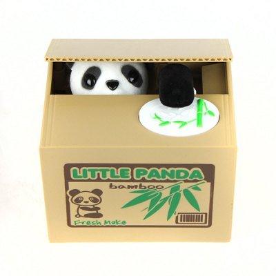 Stealing Money Panda Toy - Kleiner Panda in Box der Geld greift - Spielzeug für Kids
