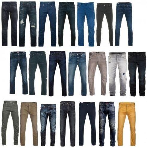 Jack&Jones Hosen 24 verschiedene Jeans für 17,99€