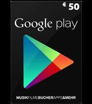 50€ Google Play Karte inkl 10€ Kaisers Gutschein