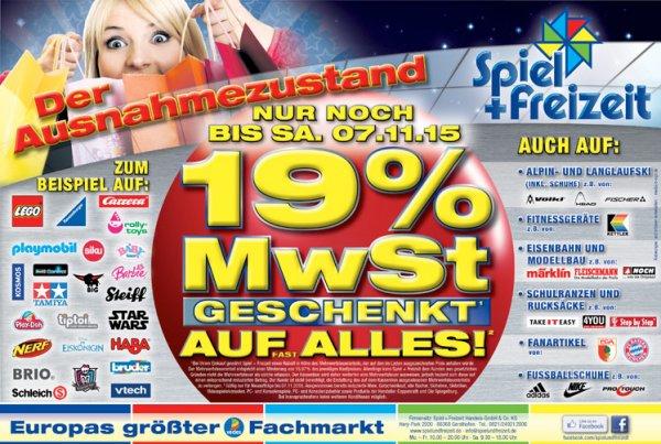 19% nachlass bei Spiel+Freizeit in Gersthofen(Augsburg)