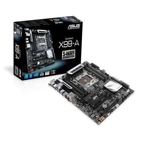 [Comtech] ASUS X99-A - Motherboard - ATX - LGA2011-v3-Sockel - X99 - USB 3.0 - Gigabit LAN - HD Audio (8-Kanal) für 189,-€ Versandkostenfrei