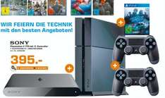 [LOKAL Darmstadt + Weiterstadt] Playstation 4 1TB + 2. Controller + Playstation TV + Need for Speed