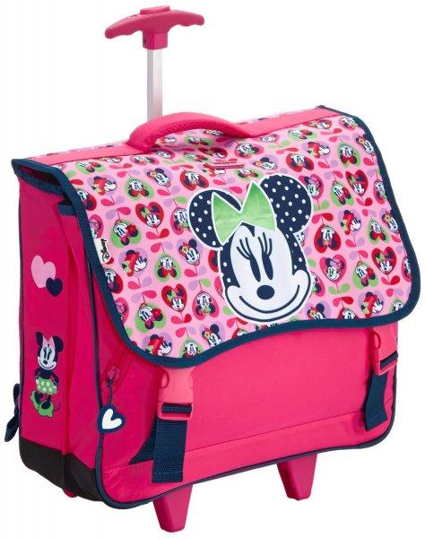 [Amazon.de-Prime]  Disney by Samsonite Schulrucksack Disney Wonder Roll Schoolbag M 23.5 Liters Mehrfarbig (Minnie Love)  und noch mehr