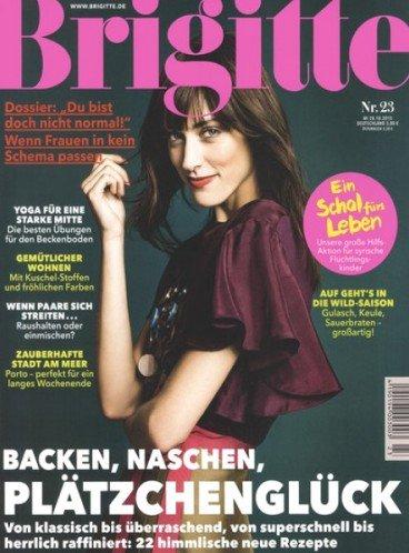 Brigitte - Jahresabo der Zeitschrift für effektiv 4,50€ (durch 80,00€ Amazon-Gutscheinprämie) oder für 14,50€ (durch 70,00€ Bargeldprämie)