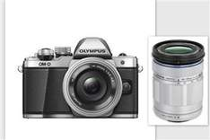 Olympus OM-D E-M10 Mark II Kit mit 3,5-5,6 / 14-42 mm EZ + 40-150mm R ED