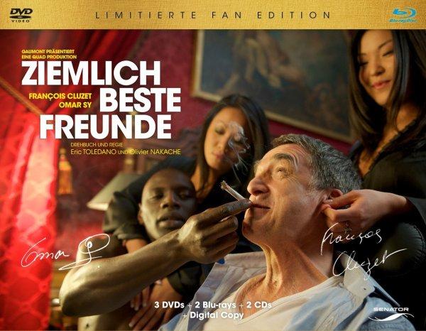 [Blu-ray] Ziemlich beste Freunde - Limitierte Fan Edition (7 Discs) / True Detective Staffel 1 ab 10,94€ exkl. Versand @ Alphamovies