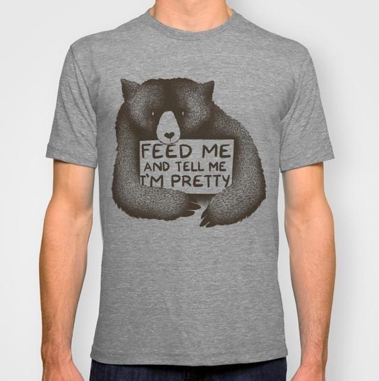 [Society6] heute alles ohne Versandkosten, z.B. T-Shirt für 20€