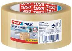 [Staples] - Packband Tesa 4124, 50mm x 66m, leise abrollbar, PVC