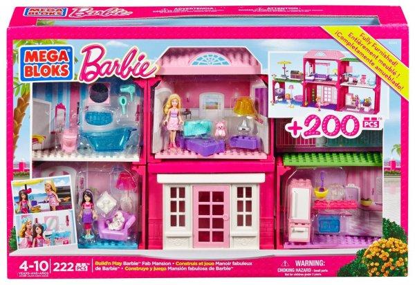 [Amazon.de-Prime] Mega Bloks 80149 - Barbie Bauen und Spielen Villa