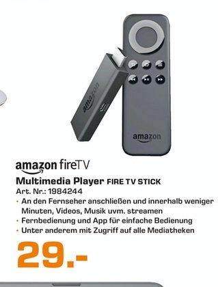 (Lokal) Amazon Fire Stick für 29€ @ Saturn Bielefeld & Berlin