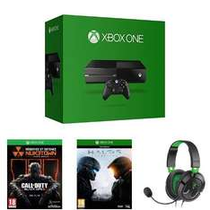 Microsoft Xbox One + Halo 5: Guardians + Call of Duty: Black Ops 3 + Turtle Beach Ear Force Recon 50X Gaming Headset für 374,83€ @Amazon.fr