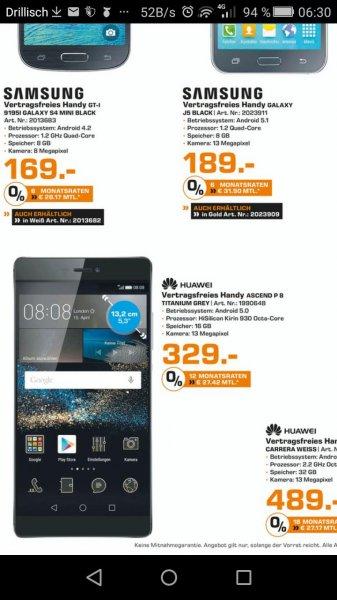 lokal Huawei p8 Saturn Bielefeld für 329euro