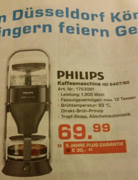 [Lokal Saturn D] Philips Kaffeemaschine HD 5407/06