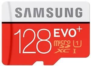 [Amazon Blitz] - Samsung Speicherkarte MicroSDXC 128GB EVO Plus UHS-I Grade 1 Cl - 64,52