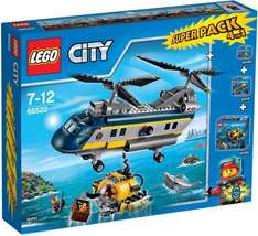 [Real] Lego 66522 City Tiefsee- Expedition Superpack 4in1 ab 9.11. 69,95€