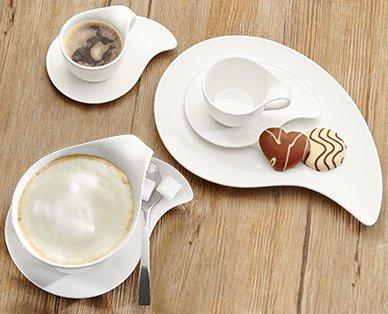 [Aldi Süd] KÄFER Feinkost Design-Kaffeetassen-Set (2 Capuccinotassen und 4 Espressotassen, jeweils mit Untertasse) ab Samstag, 07.11.