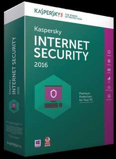 (Rakuten) Kaspersky Internet Security 2016 1 PC 1 Jahr Download für 14,90 Euro inkl. 2,10 Euro in Punkten