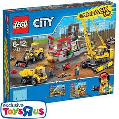 Toys'r Us: Lego Abriss-Baustelle Superpack 3-in-1 (Art. Nr. 66521)