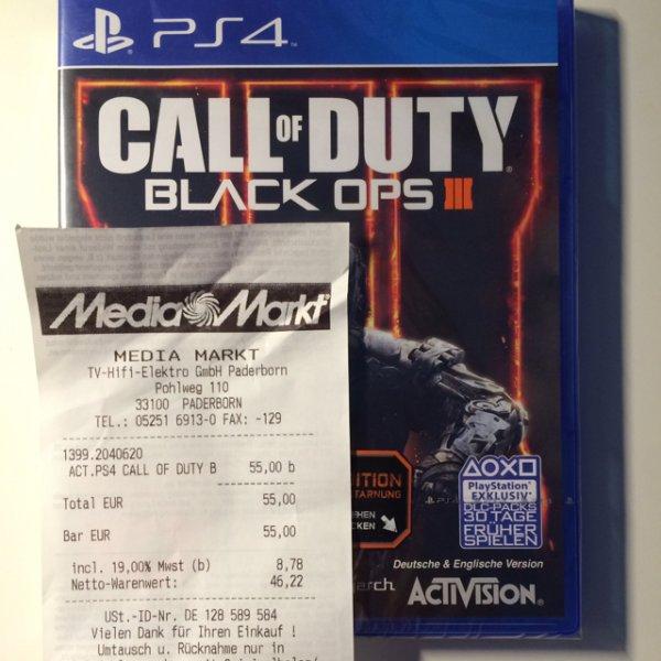 LOKAL!!!!: Call of Duty Black Ops 3