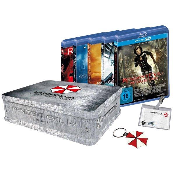 *Ausverkauft* Resident Evil 1-5 Collectors Box (Blu-ray) @EMP für 58,40€