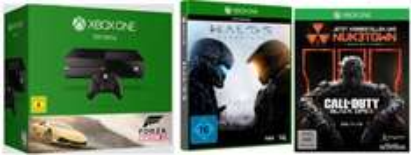 [Saturn.de] Xbox One 500GB Forza Horizon 2 Bundle + COD: Black Ops 3 + Halo 5 für 369€