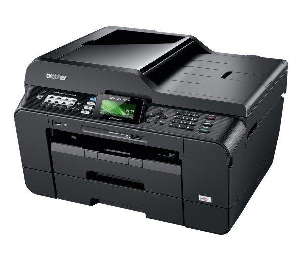 [wirhabensnoch] Brother MFC-J6710DW WLAN Multifunktionsgerät A3, Duplex Tintenstrahldrucker / Faxgerät / Farbkopierer / Farbscanner 3 Jahre Herstellergarantie