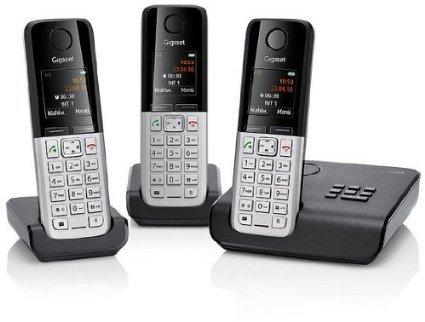 Ebay WoW : Gigaset C300A Trio Schnurlos Festnetz Telefon mit Anrufbeantworter Schwarz