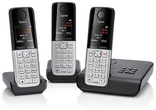 Gigaset C300A Trio für 70€ - 3 DECT Telefone mit Anrufbeantworter