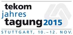 Messeticket zur tekom-Messe 2015 in Stuttgart