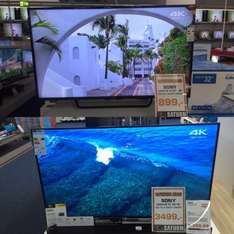 [Saturn(Lokal BG)]4K Led TV von Sony Kd55x8005c =899€ KD75x8505c=3499€