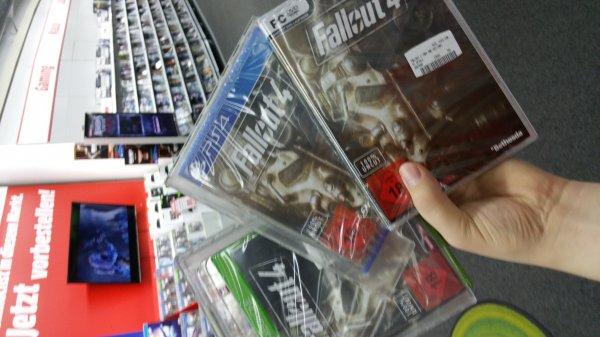 Media Markt Main Taunus Zentrum lokal - jetzt schon Fallout 4 da !!!