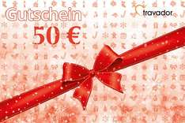 50 € Travador Gutschein für 9 €