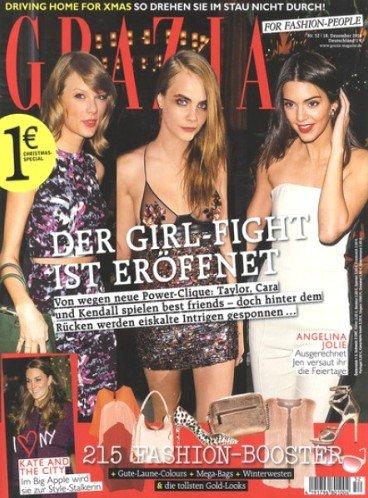 Zeitschrift Grazia - halbes Jahr komplett kostenlos und unverbindlich lesen