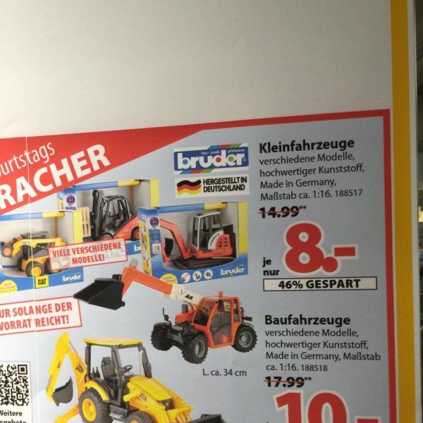Bruder Bobcat 8€ Lokal Spielger obernburg