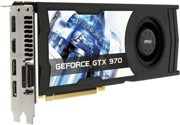[Allyouneed] MSI GeForce GTX 970 4GD5 OC, 4GB GDDR5 für 287,48