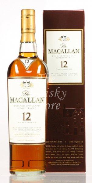 Macallan Sherryfass 40% 12 Jahre (75,90 ohne Versand) The Whisky Store