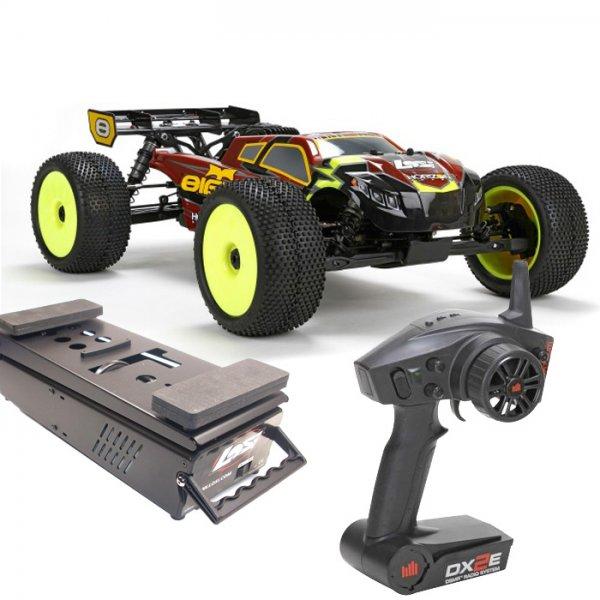 RC-Modell LOSI 8IGHT Truggy 4WD Benziner RTR 2.4GHz AVC mit Starterbox