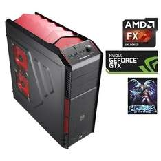 [One] One Computer AMD FX-8320, 8x 3.5 Ghz, 8192MB DDR3, 1000GB, 22x DVD-Brenner, 4096MB NVIDIA Geforce GTX960 ohne OS