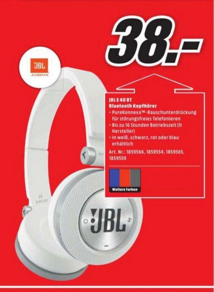 (Lokal) JBL Synchros E40BT für 38€ @ Mediamarkt Bielefeld