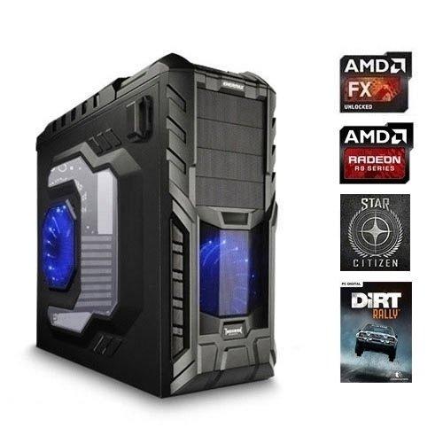 [One] One Computer AMD FX-8350, 8x 4.0 Ghz, 16GB DDR3, 1000GB, 128GB SSD, Blu Ray-Brenner, 8192MB AMD Radeon R9 390X incl. DLC für 2 Spiele ohne OS