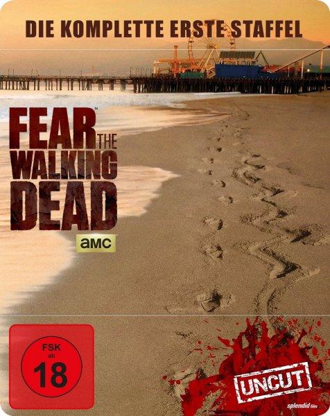 (thalia.de VORBESTELLER) Fear the Walking Dead - Staffel 1 (Blu-ray Steelbook) für 20,74€