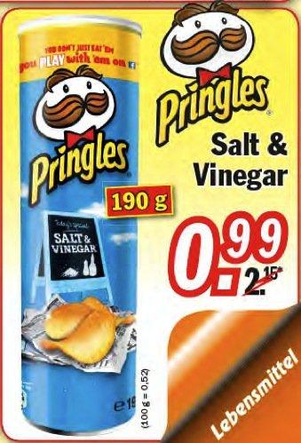 [ZIMMERMANN]  Pringles Salt & Vinegar (190 g) für 0,99 € bis  14.11.2015