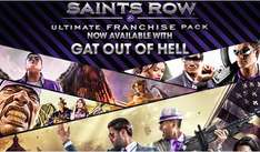 [Steam] Saints Row Ultimate Franchise Pack incl. Gat out of Hell @Humblebundle