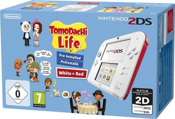 [Quelle.de] Nintendo 2DS + Tomodachi Life vorinstalliert Konsolen-Set mit 3 Jahren Garantie für 77,99€ Versandkostenfrei. Mit 2 Jahren Garantie 76,99€