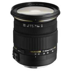 Sigma 17-50mm F2,8 EX DC OS HSM (Sony/Minolta) für 206,56 € @Amazon.it