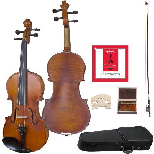 [Amazon.de] Cecilio CVA-500 Viola mit D'Addario Saiten mit Koffer, Kolofonium und Bogen 30,5 cm (12 Zoll) oder 13Zoll
