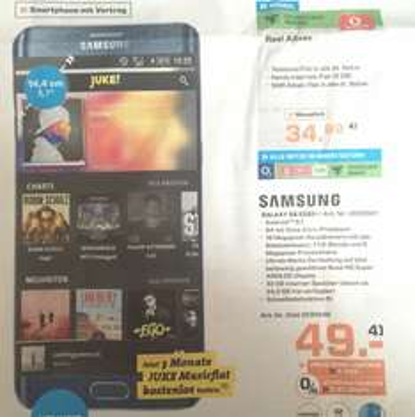 MD Real Allnet + Galaxy S6 Edge plus
