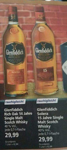 [Offline] real,- Whisky Glenfiddich 15 Solera und 14 Rich Oak für je 29,99€ ab 09.11.2015