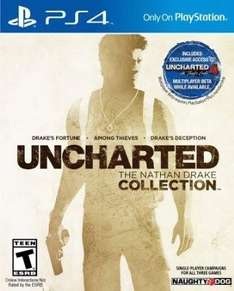 Uncharted - The Nathan Drake Collection (PS4) für 27,94€