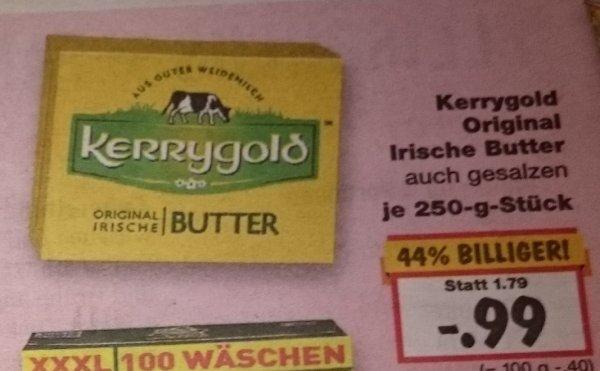 [Kaufland] Kerrygold Original Irische Butter (auch gesalzen) für 99 Cent - Normalpreis: 1,79 EUR | Gültig vom 9.11.-14.11.